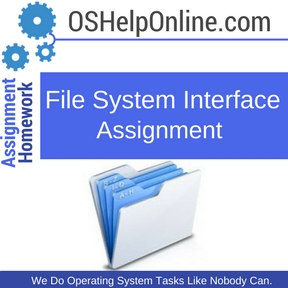 File System Interface Assignment Help