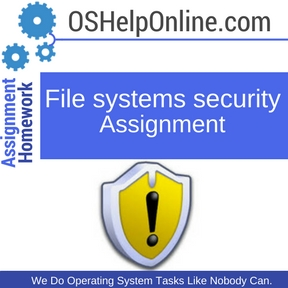 File systems security Assignment Help
