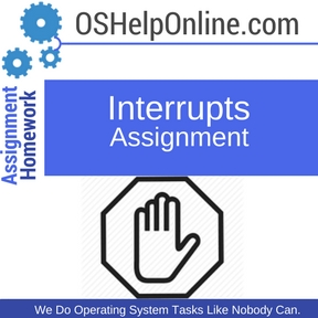 Interrupts Assignment Help