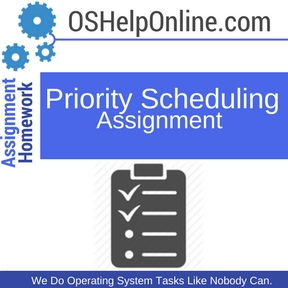 Priority Scheduling Assignment Help