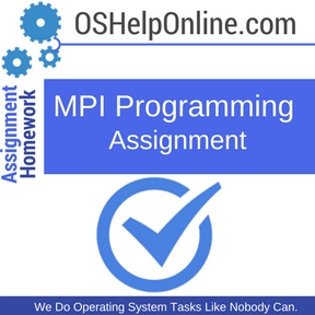 MPI Programming Assignment Help