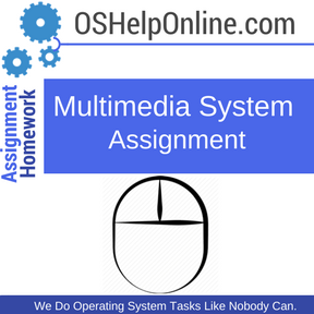 Multimedia System Assignment Help