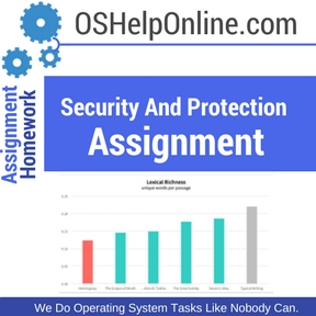 Security And Protection Assignment Help